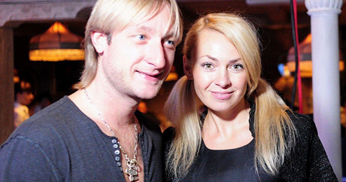 Яна Рудьковська та Євген Плющенко