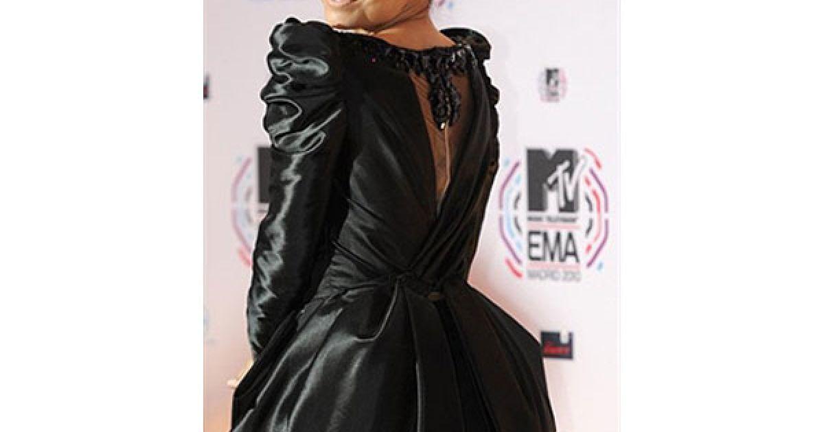 Єва Лонгорія на MTV Europe Music 2010 @ AFP