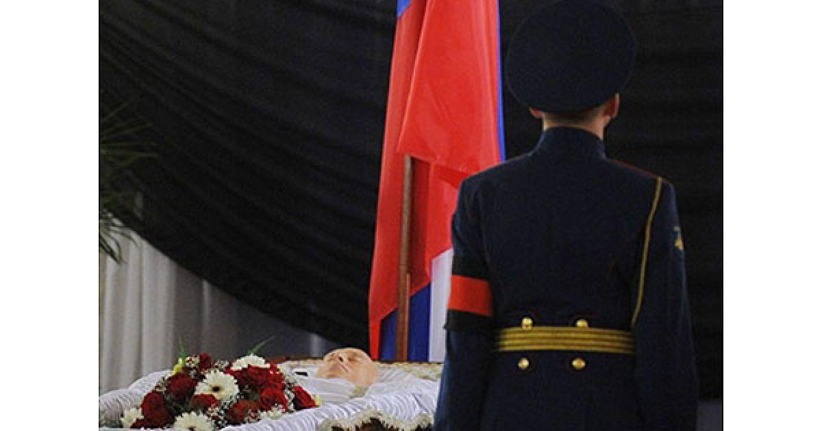 В Будинку прийомів на Воробйових горах пройшла церемонія прощання з Віктором Черномирдіним @ AFP