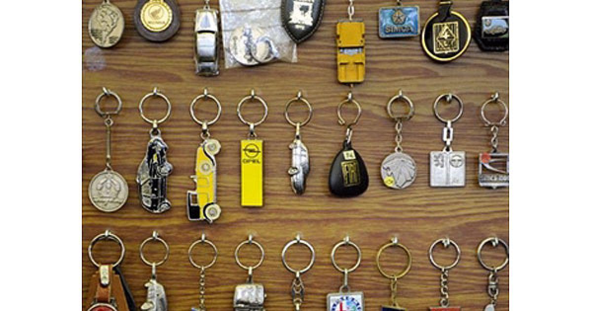 Колекція ключів від старовинних автомобілів @ AFP