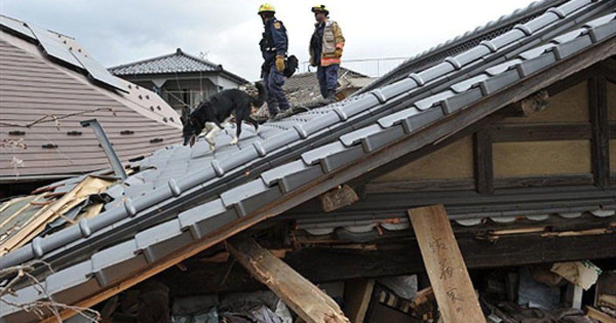 Вранці в середу, 16 березня, в 96 кілометрах на схід від Токіо відбулася нова серія підземних поштовхів магнітудою 6 балів. @ AFP