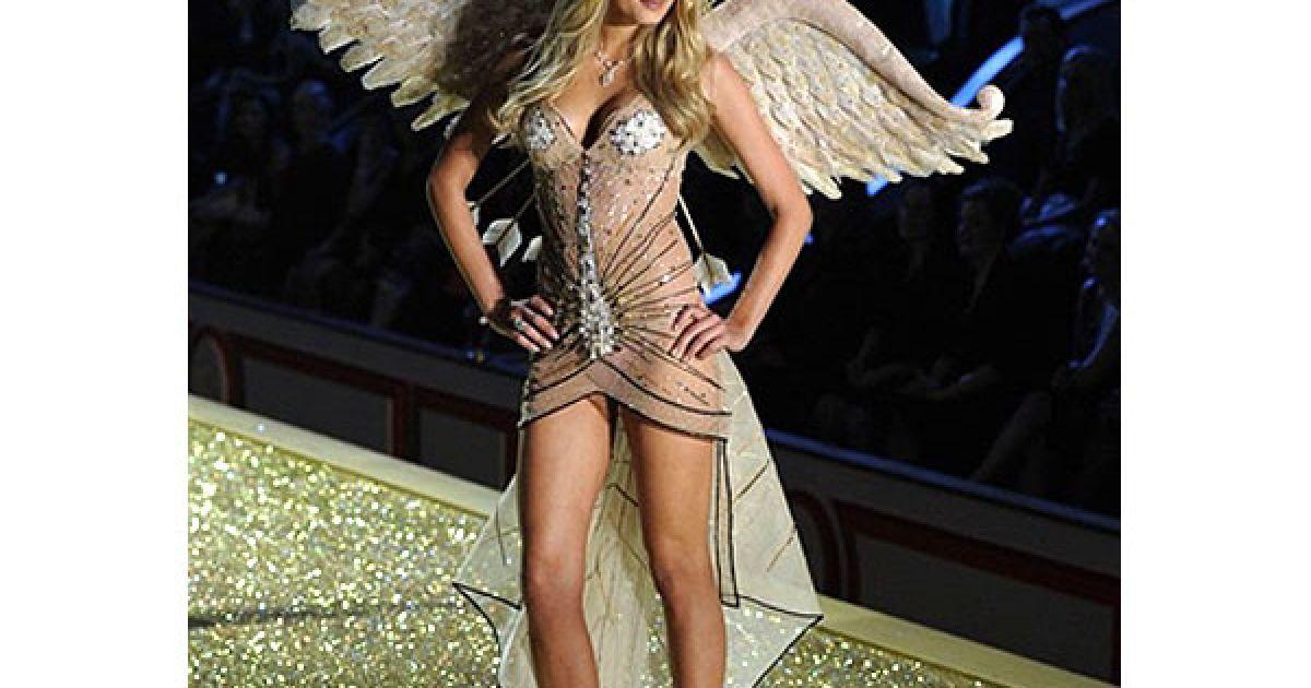 Лілі Дональдсон на шоу Victoria's Secret @ AFP