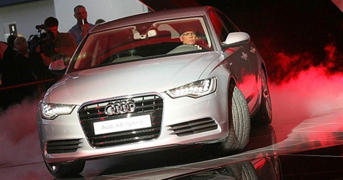 Презентація нового гібриду Audi A6 Hybrid @ AFP