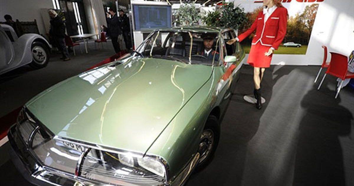 Французький Citroën SM, який колись належав радянському генсеку Леоніду Брежнєву. @ AFP
