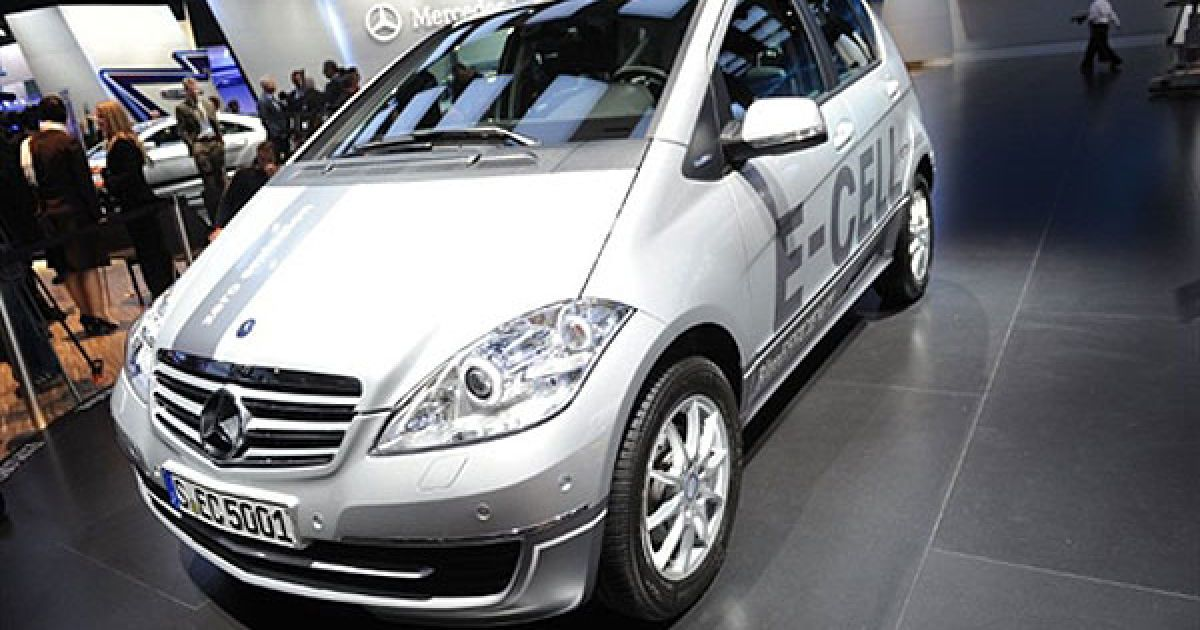 Електрокар Mercedes E-cell A-класу @ AFP