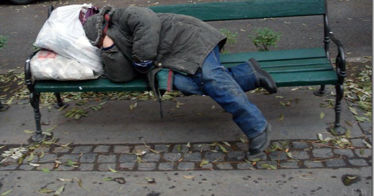 На вулицях України зросла кількість психічно хворих безпритульних людей