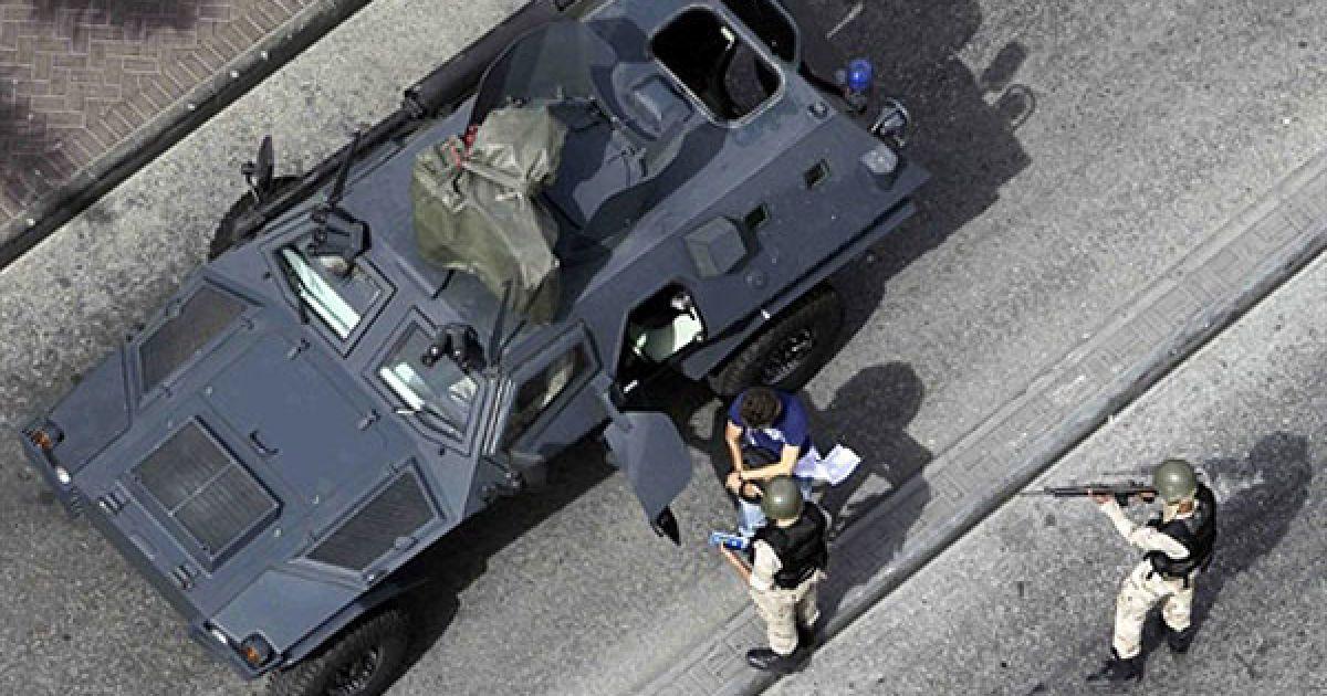 Військові арештували журналіста Wall Street Journal Алекса Делмар-Моргана @ AFP