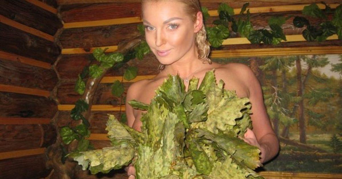 Скандальна балерина Анастасія Волочкова побувала у лазні та пофотографувалась там. @ livejournal.com