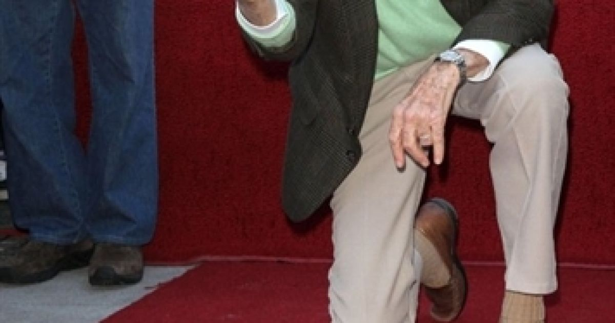 Стен Лі отримав зірку на Алеї Слави @ AFP