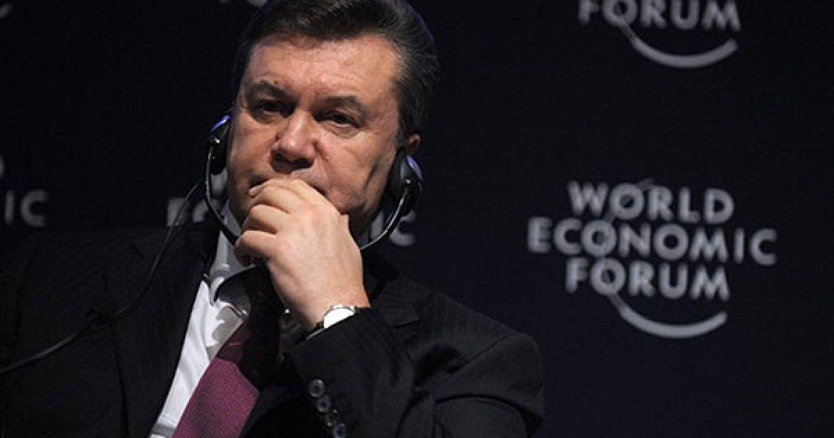 Президент України Віктор Янукович взяв участь у щорічному Всесвітньому економічному форумі у місті Давос (Швейцарія). @ President.gov.ua