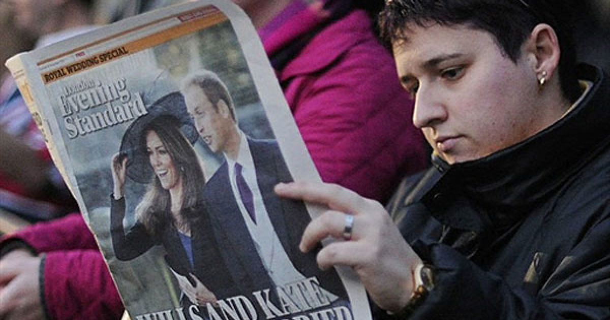 Чутки про майбутнє королівське весілля ширяться у Великобританії протягом останніх декількох місяців @ AFP
