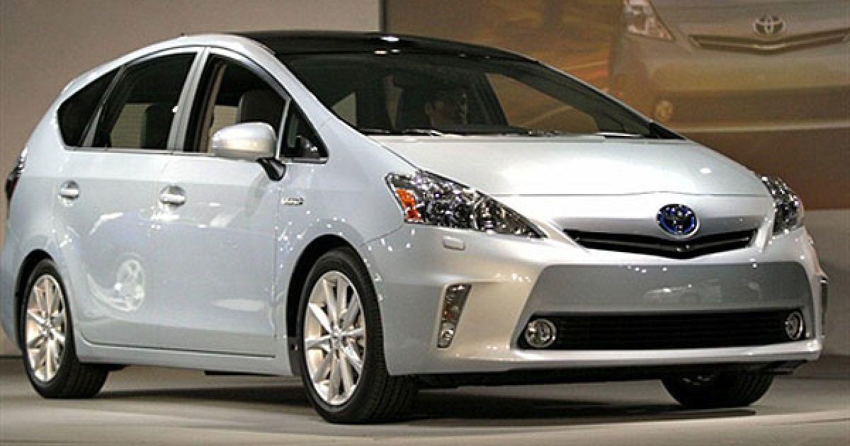 Toyota Prius V Hybrid @ AFP