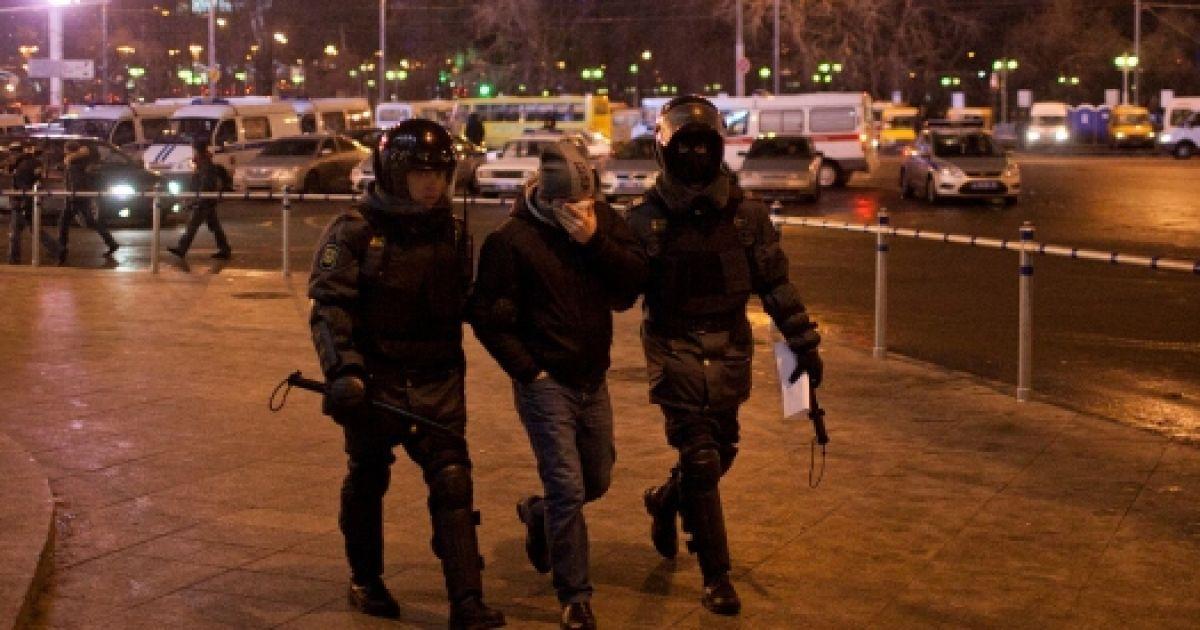 Сутички у Москві 15 грудня @ zyalt.livejournal.com