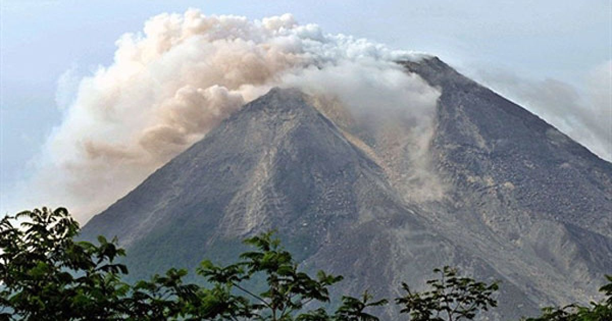 Вулкан Мерапі є одним з найактивніших вулканів Індонезії. @ AFP