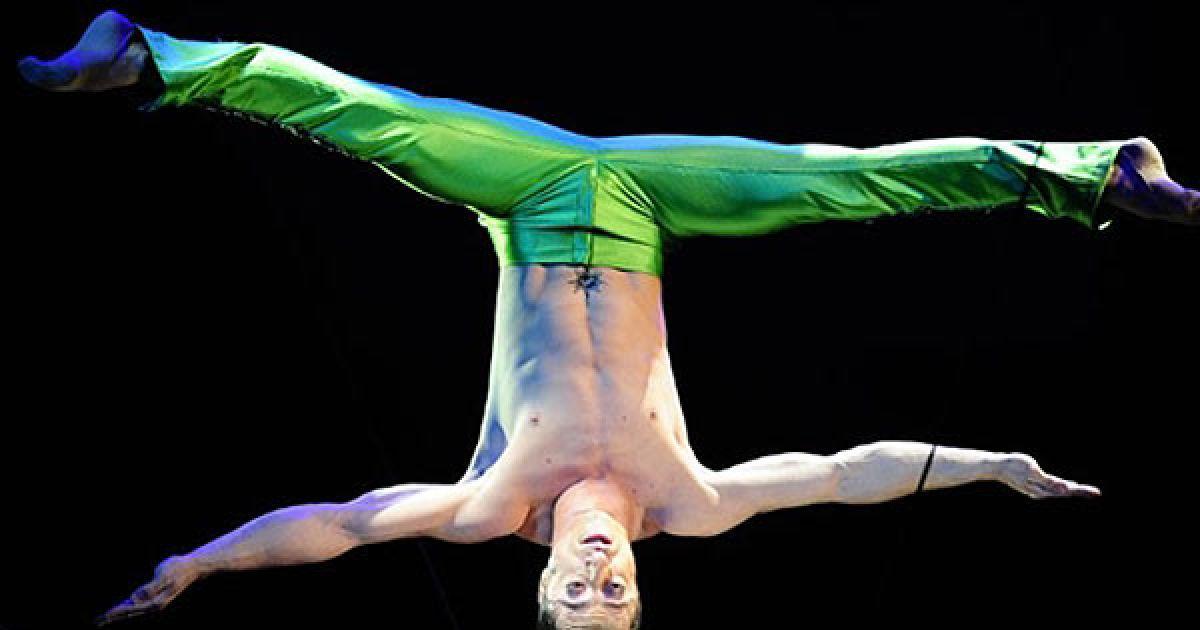 """США, Нью-Йорк. Андрій Манчев виступає у цирку """"Big Apple"""" в Нью-Йорку. @ AFP"""