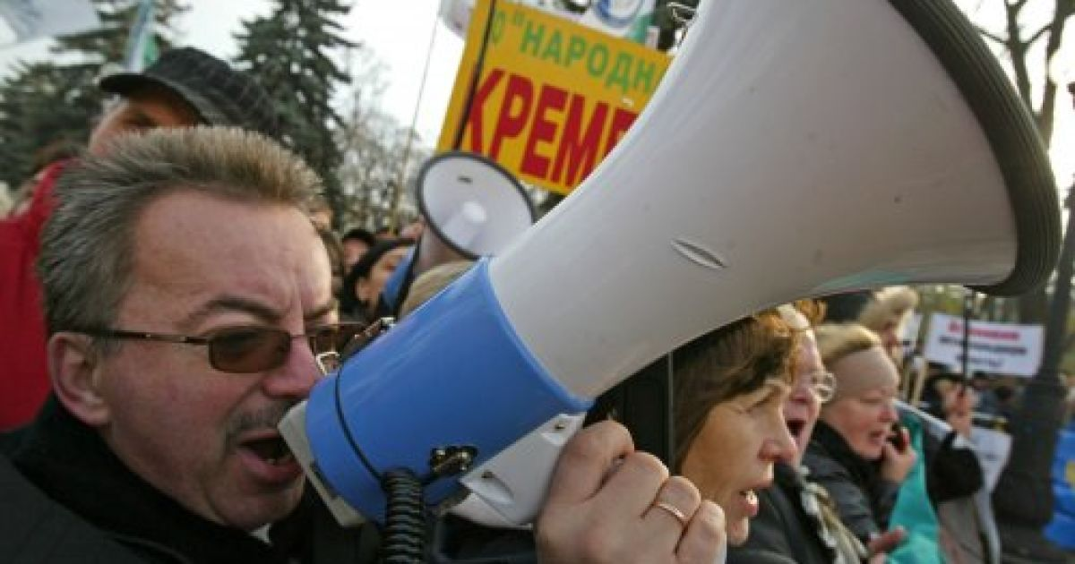 Підприємці по всій Україні повстали проти Податкового кодексу Азарова @ УНІАН