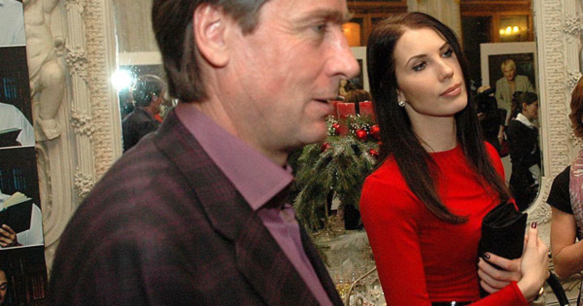 Бизнесмен Сергей Прокаев и старшая дочь Влады Маргарита. @ ТСН.ua