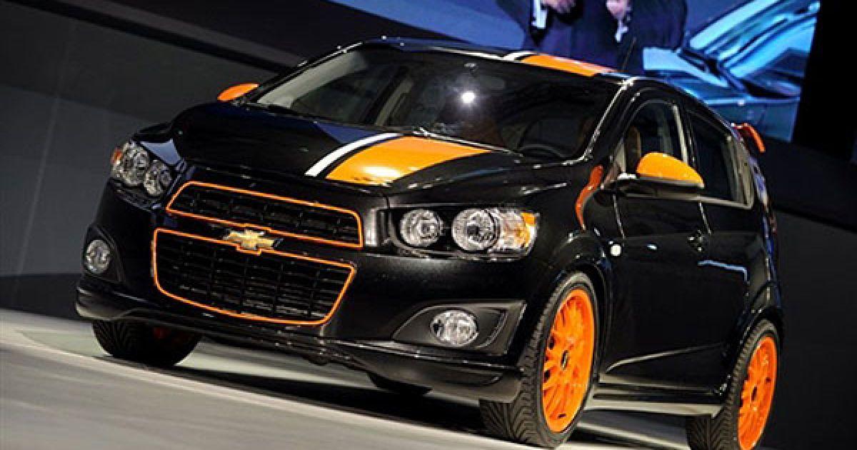 Презентація концепт-кару Chevrolet Sonic Z-spec @ AFP