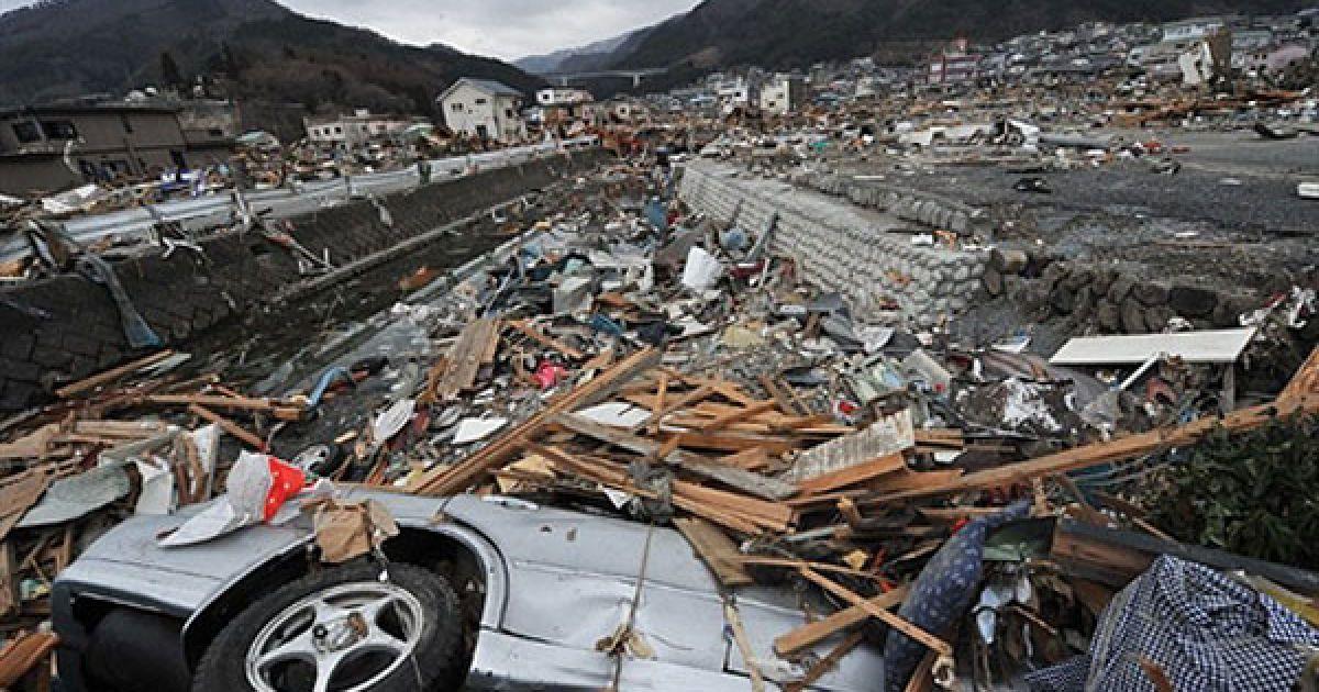Апокаліпсис в Японії: влада повідомляє про 11 тисяч загиблих та зниклих безвісти. @ AFP