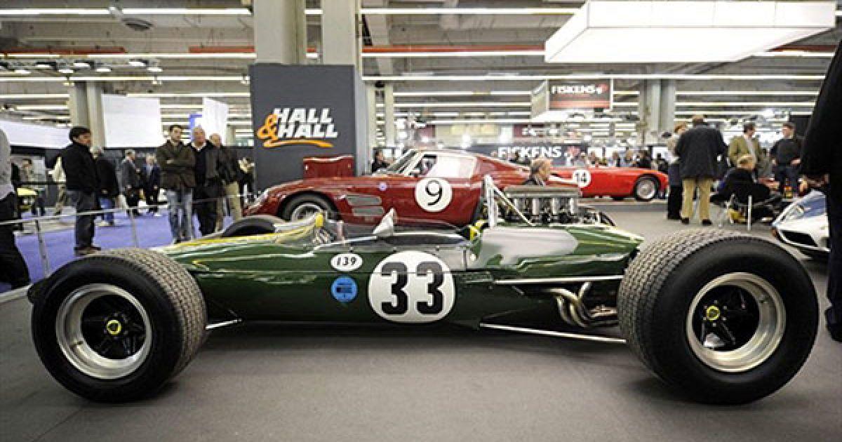 Старовинний спортивний автомобіль Lotus @ AFP