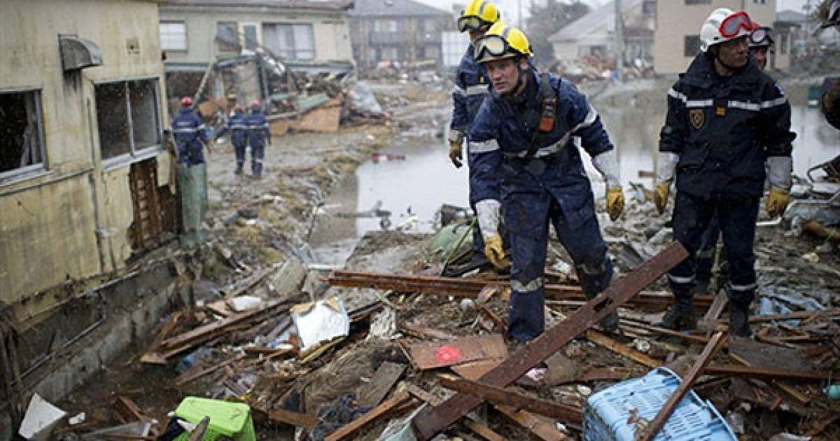 За попередніми оцінками, без будинків залишилися близько 500 тис. японців. @ AFP