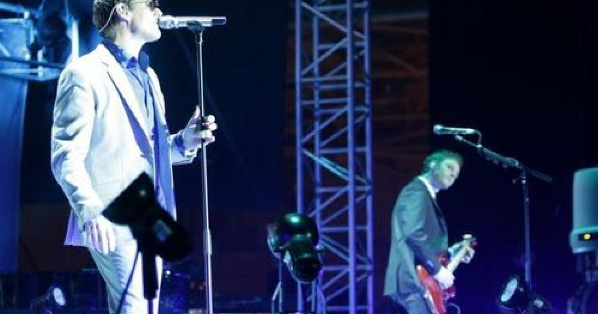 A-HA отыграли концерт в Киеве @ gloss.ua