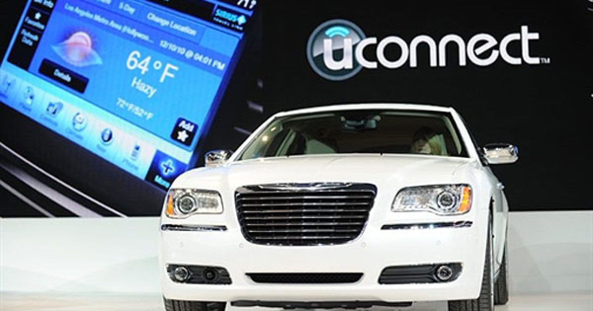 Chrysler 300 на автошоу в Детройті @ AFP