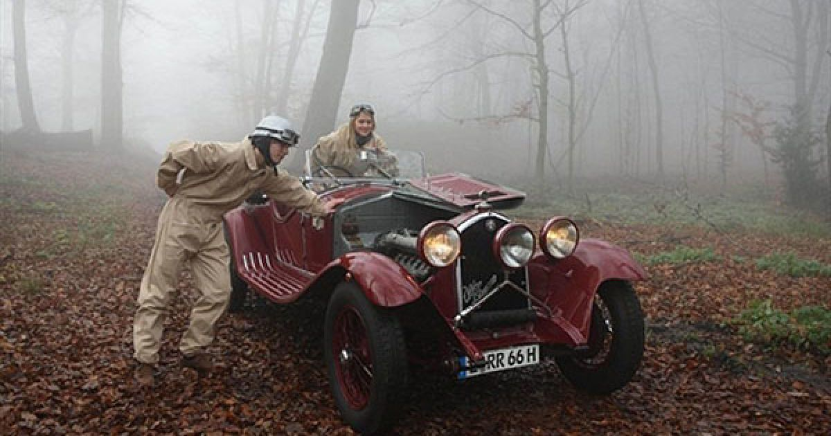 Alfa Romeo 6C 1750 Grand Sport 1933 року @ AFP