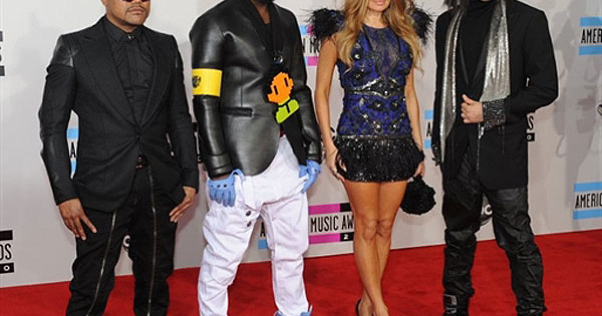 Black Eyed Peas на American Music Awards 2010 @ AFP