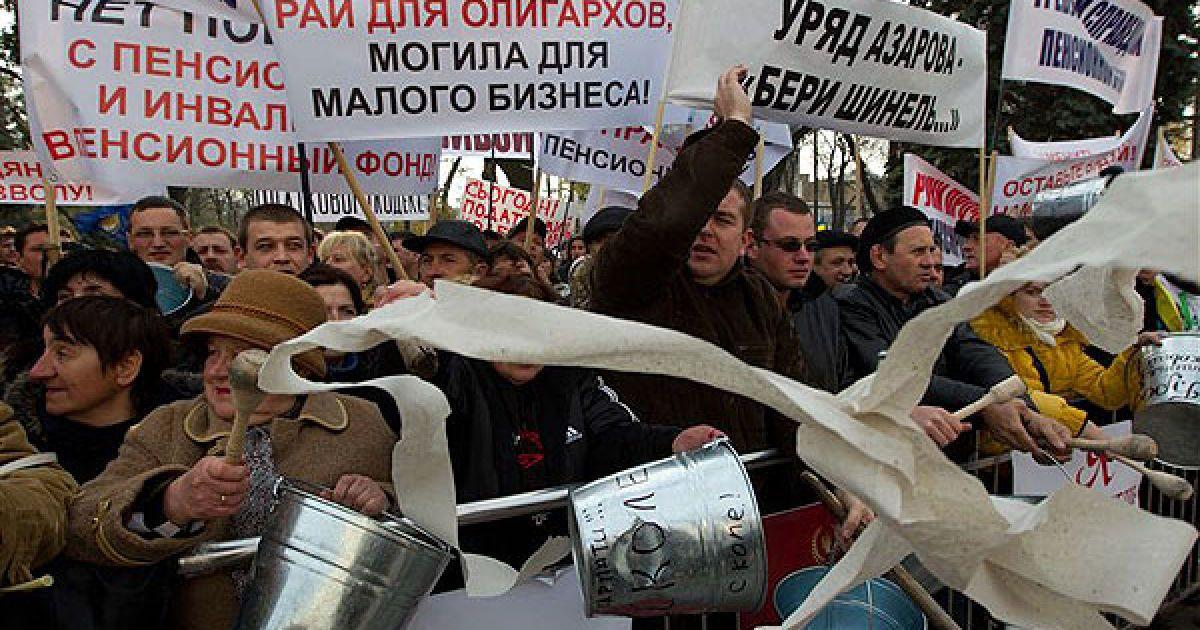 Робота ринків по всій Україні була паралізована через страйк підприємців @ PHL.com.ua