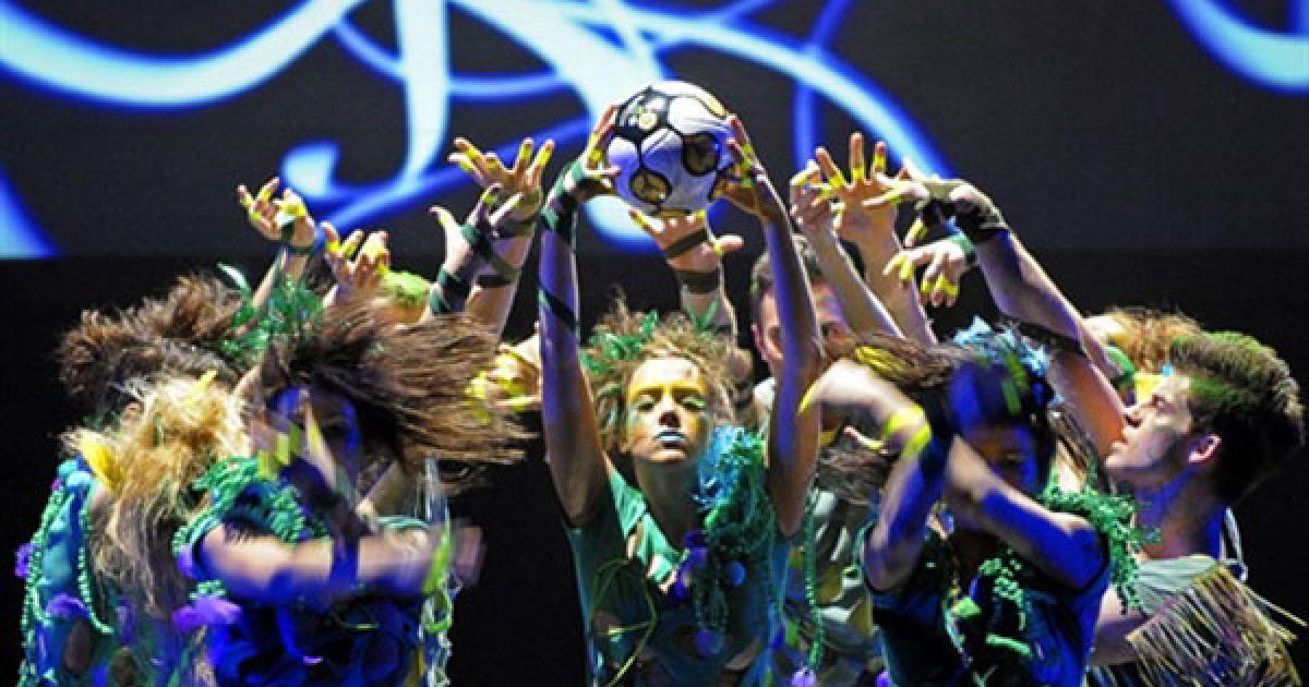 В Україні офіційна презентація талісману Євро-2012 стартує 20 листопада. Свято пройде у всіх приймаючих містах: Львові, Донецьку, Харкові, а завершиться в Києві. @ AFP