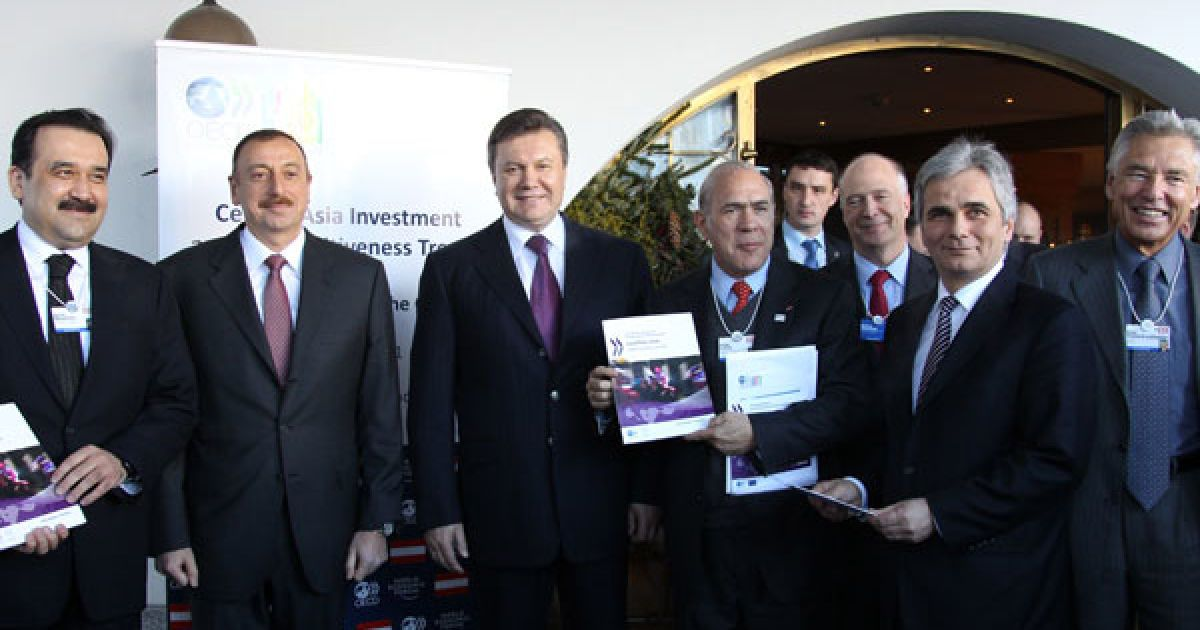 Віктор Янукович взяв участь у щорічному засіданні Всесвітнього економічного форуму, що проходить у швейцарському Давосі @ President.gov.ua