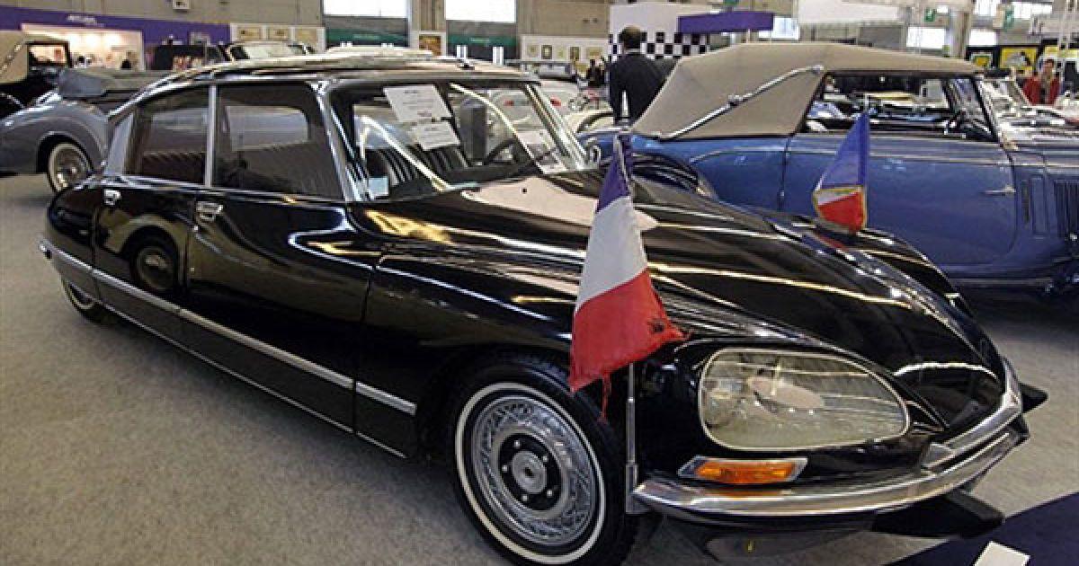 Citroen DS 23, який належав 20-му президенту Франції Валері Рене Марі Жискар д'Естену @ AFP