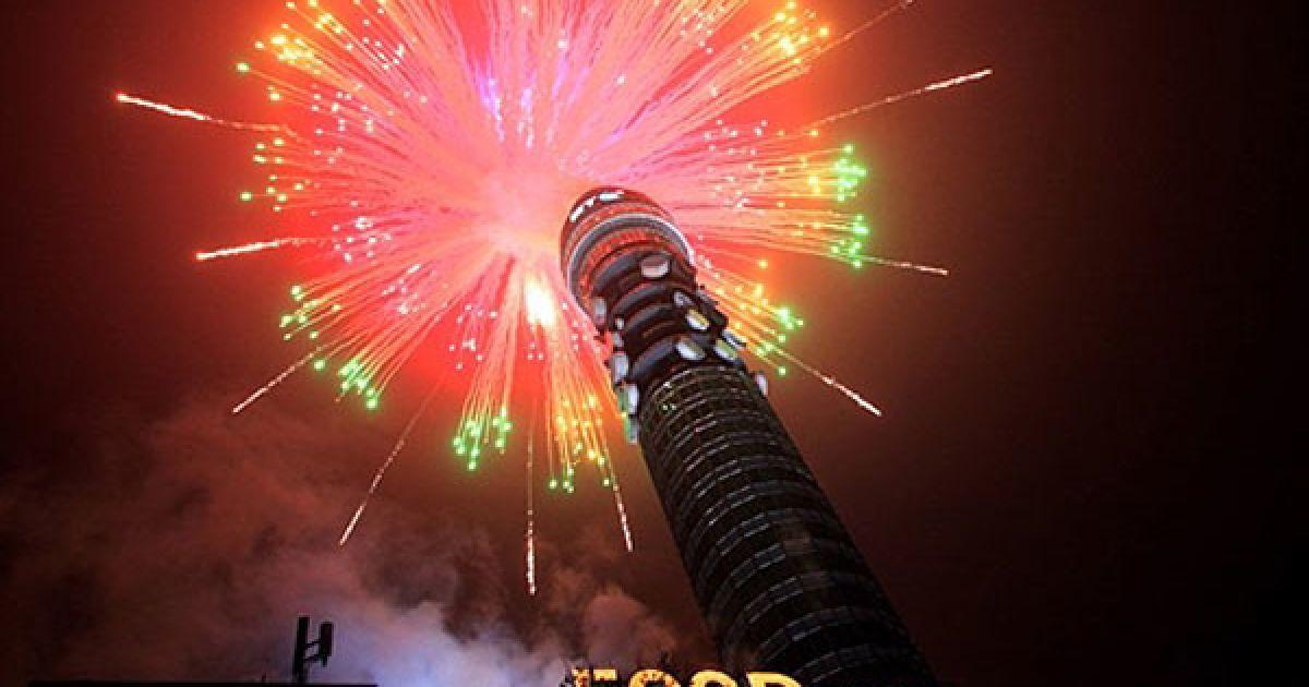 Великобританія, Лондон. Олімпійський оргкомітет оголосив 500 днів відліку до відкриття у Лондоні Олімпійських та Параолімпійських ігор 2012 року. @ AFP