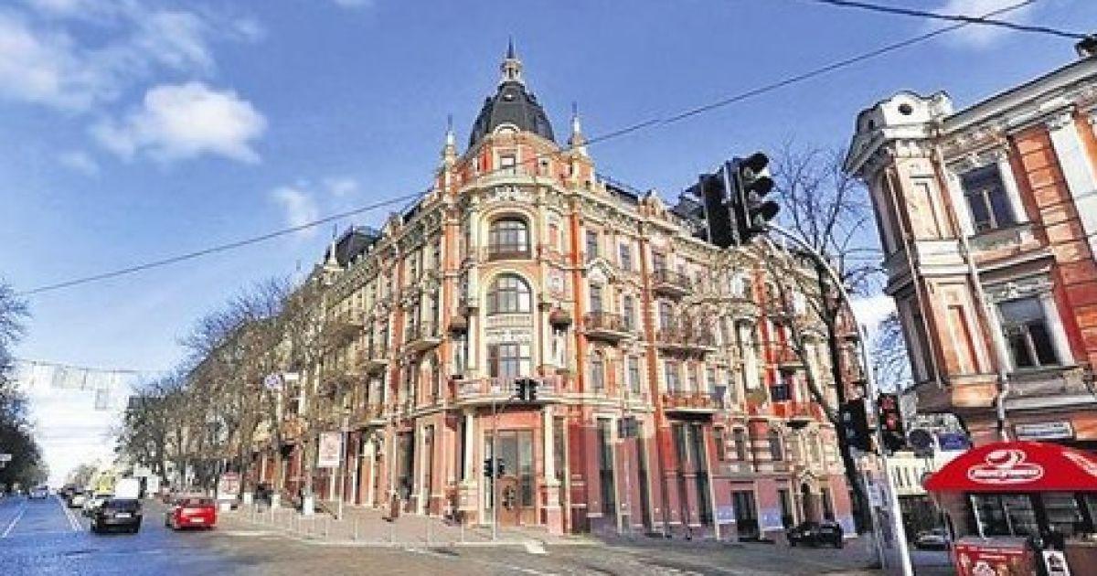 """Будівля на Прорізній, 24/39, продано у 2002 р. компанії """"Гранд плаза"""" @ УНІАН"""