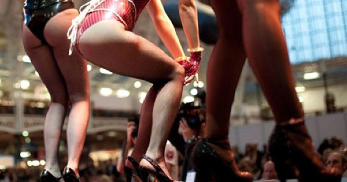 У Олімпійському виставковому центрі в Лондоні відкрилась виставка товарів для секс-індустрії Erotica 2010