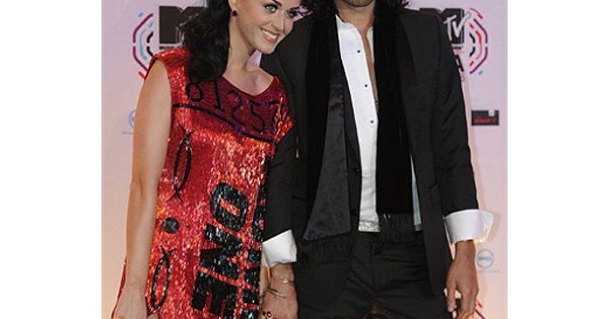 Кеті Пері та Рассел Кроу на MTV Europe Music 2010 @ AFP