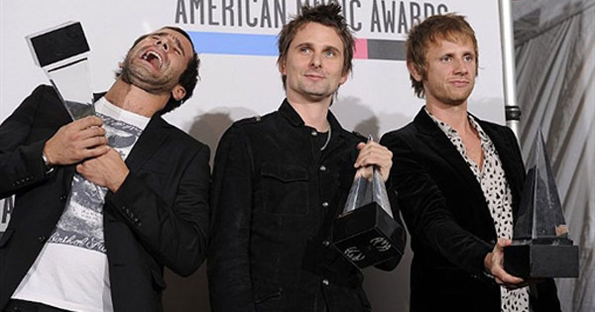 Muse на American Music Awards 2010 @ AFP