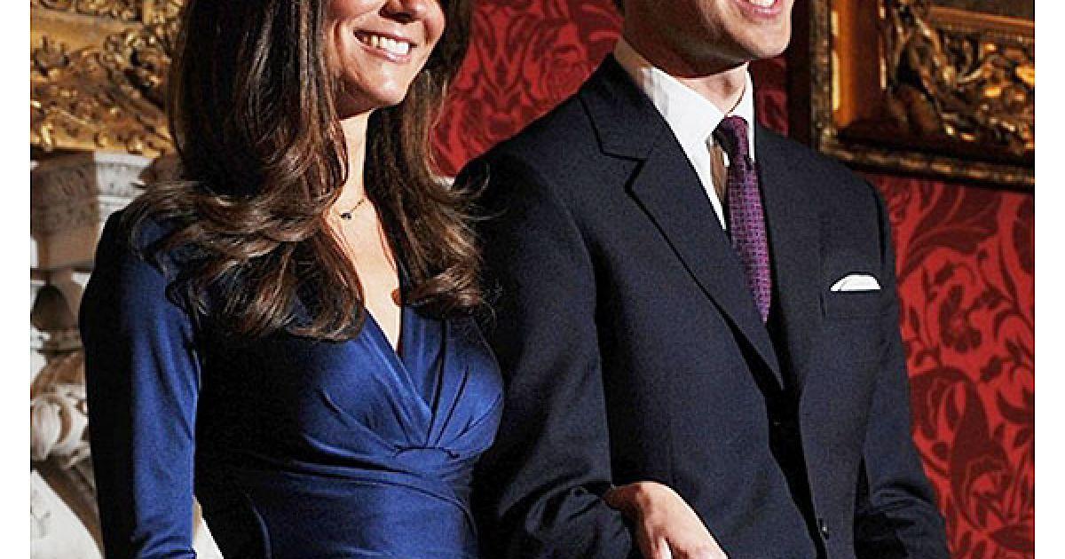 Принц Вільям і Кейт Міддлтон оголосили про заручини @ AFP
