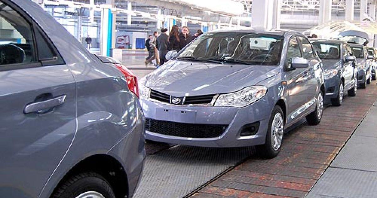 Сборка ZAZ Forza (китайская Chery A13) на мощностях Запорожского автомобильного завода. @ autoconsulting.com.ua