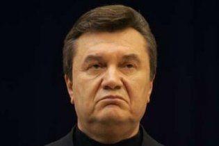 Через озброєних тризубівців Янукович на Прикарпатті змінював маршрут