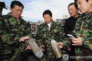Южнокорейский политик спутал термосы со снарядами КНДР