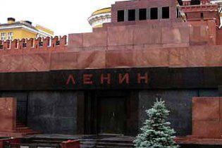 Українка намагалася відрізати собі голову біля мавзолею Леніна