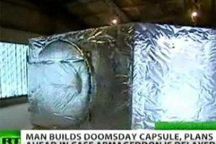 Росіянин створив рятувальну капсулу на випадок апокаліпсису-2012