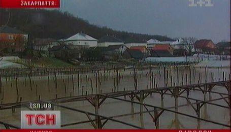 Декабрьский паводок на Закарпатье