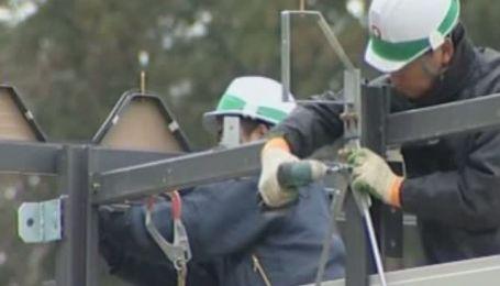 Япония начала отстраиваться после землетрясения