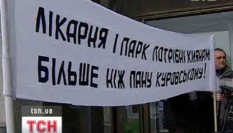 Застройщик защищает свое право возвести многоэтажку в историческом центре Киева