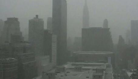 В Нью-Йорке выпал снег на 50 сантиметров