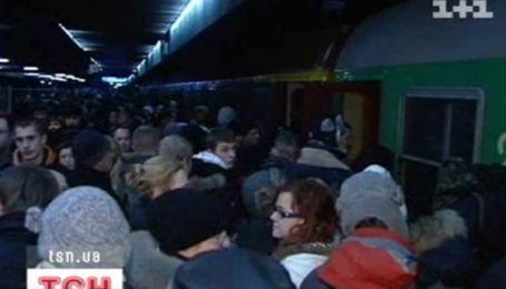 Хаос на польской железной дороге