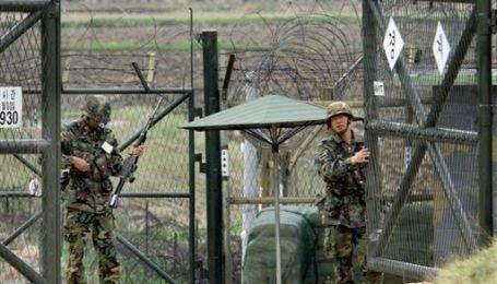 На границе Северной и Южной Кореи произошла перестрелка